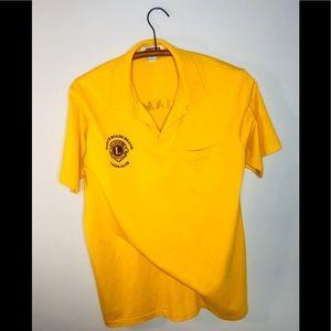 Vintage Retro 90's 80's Miami Lions Club Polo